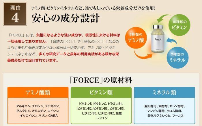 精力剤force成分