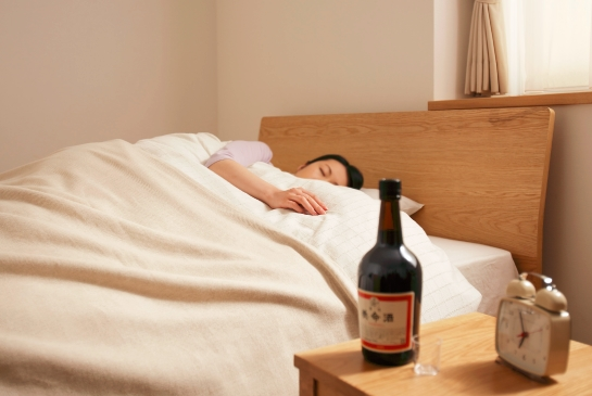 養命酒で良い睡眠