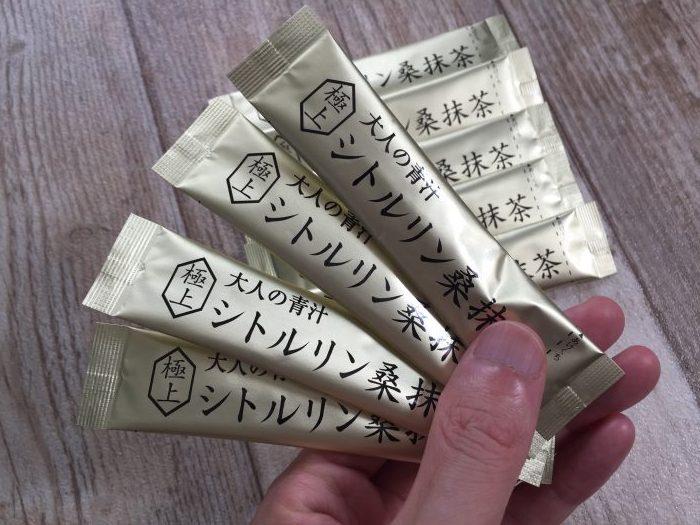 シトルリン桑抹茶の口コミ